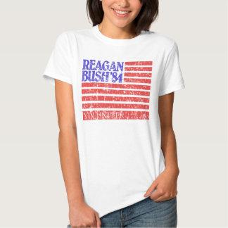 Reagan Bush 84 Volunteer T-shirts