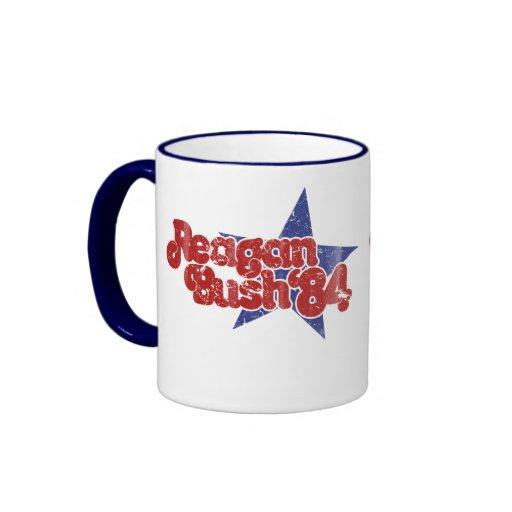 Reagan Bush Coffee Mugs