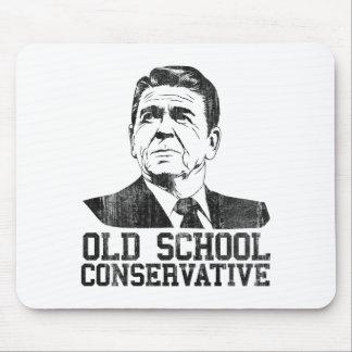 Reagan Bush Old School Conservative vintage tshirt Mouse Pad