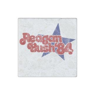 Reagan Bush Stone Magnets