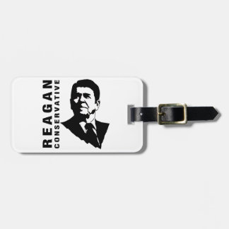 Reagan Conservative Bag Tag