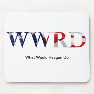 Reagan Fan Mousepad