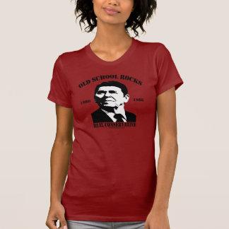 Reagan Old School Rocks T-Shirt