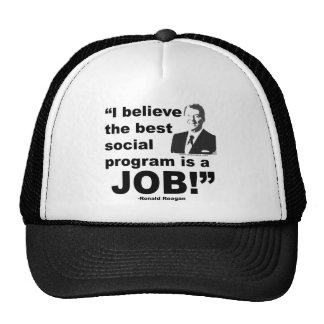 Reagan Quote 4 Trucker Hat