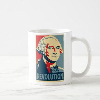 Reagan & Washington - Obama Parody Mug