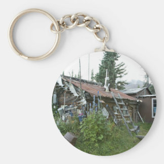 Reakoff cabin Wiseman, On the Koyukuk River Keychain