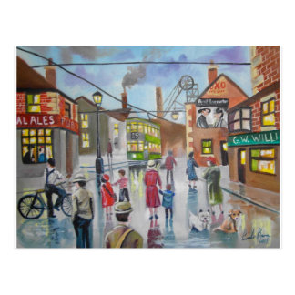 Real Ales Pub oil painting Gordon Bruce Postcard