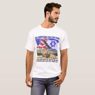 Real Americans Pray For Israel T-Shirt