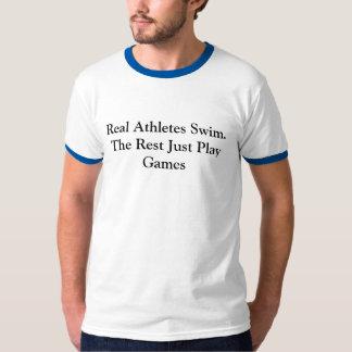 Real Athletes Swim T-Shirt