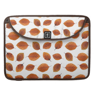 Real Autumn Leaves Pattern Sleeve For MacBook Pro