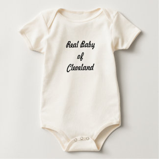 Real Baby of Cleveland: A Great Gift! Baby Bodysuit