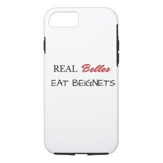 Real Belles Eat Beignets iPhone 7 Case