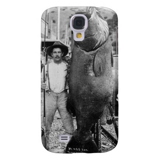 Real Big Fish, early 1900s Galaxy S4 Cover
