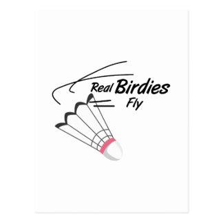 Real Birdies Post Cards