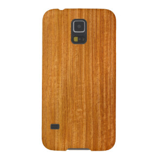 Real Burmese Padauk Veneer Woodgrain Cases For Galaxy S5