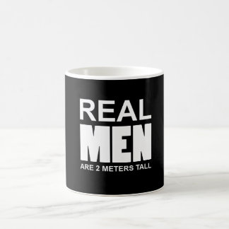 Real but are 2 metres' pine coffee mug
