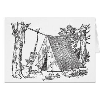 Real Camping Card