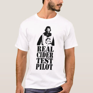 Real Cider Test Pilot - No. 1 T-Shirt