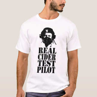 Real Cider Test Pilot - No. 3 T-Shirt