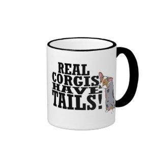 Real Corgis Have Tails Mug