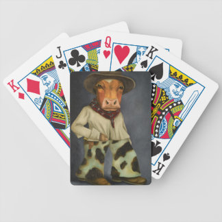 Real Cowboy 2 Bicycle Playing Cards