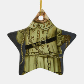 Real Cowgirl 2 Ceramic Star Ornament