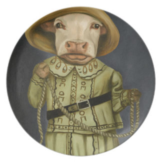 Real Cowgirl 2 Plate