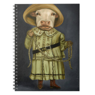 Real Cowgirl 2 Spiral Note Book