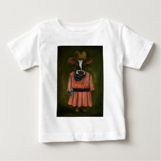 Real Cowgirl Baby T-Shirt