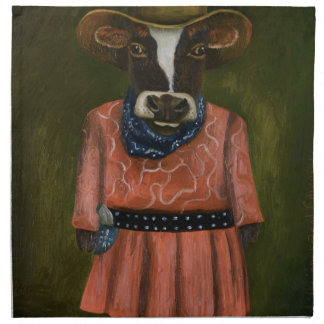 Real Cowgirl Cloth Napkin