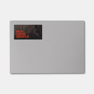 Real Crime Profile Post It Notes