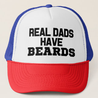 Real Dads have Beards funny hat