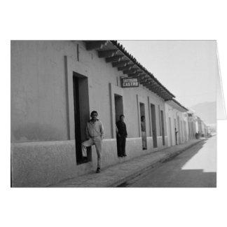 Real de Guadalupe, San Cristobal de Las Casas Greeting Card
