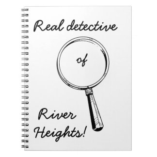 Real Detective of River Heights!: Cute for Girls Notebook