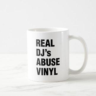 REAL DJ's ABUSE VINYL Coffee Mug