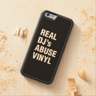 REAL DJ's ABUSE VINYL Maple iPhone 6 Bumper Case