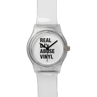 REAL DJ's ABUSE VINYL Watch