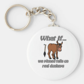 real donkeys keychain