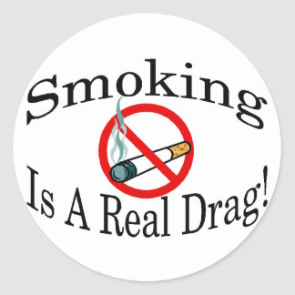 Real Drag Classic Round Sticker