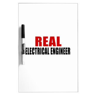 REAL ELECTRICAL ENGINEER Dry-Erase WHITEBOARD