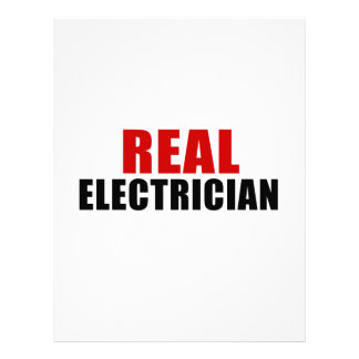 REAL ELECTRICIAN LETTERHEAD TEMPLATE