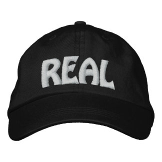 REAL EMBROIDERED HAT