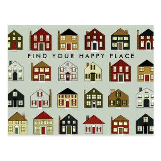 Real Estate Agency Postcard