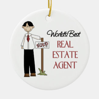 Real Estate Agent Christmas Ornament