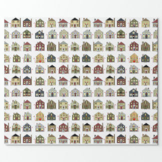 Real Estate Agent Christmas Wrapping Paper