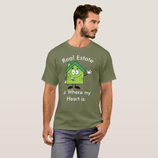 Real Estate Agent @ Heart / Buy & Sell Humor Shirt