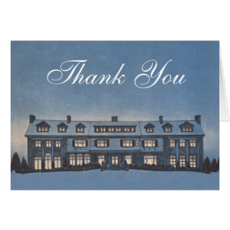 Real Estate Agent or Mortgage Broker Thank You Card
