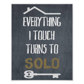 Real Estate Agent Poster