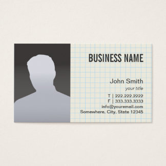 Real Estate Agent Professional Photo Business Card