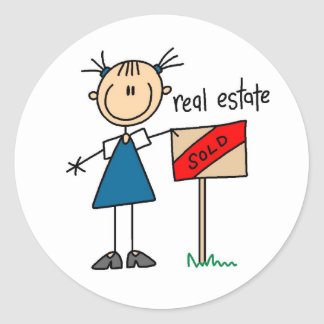Real Estate Agent Sticker